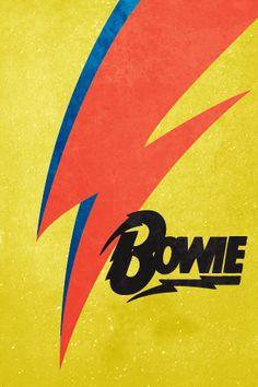 David Bowie Iphone Wallpaper by kylestewartdesign