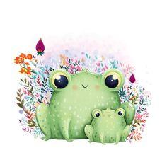 #frog #ilustrator #illustrator #illustration #illustrationart #illustrationdesign #illustrationforkids #kids #kidsbooks #kidsart #picturebook #design #ilustracion #france #art #artist #artistic #nature #draw #drawingbook #drawing #annaemiliaillustrations #forkids #fun #cute #plants #mommy #love #momandson