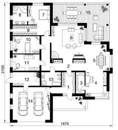 Namo projektas Ikaras – Famous Last Words 2 Bedroom House Plans, Porch House Plans, House Plans One Story, Bungalow House Plans, Craftsman Style House Plans, New House Plans, Modern House Plans, Small House Plans, Open Floor House Plans