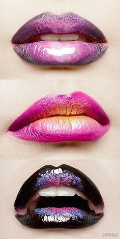 dimension via color #lips #lipart #ombre #ombrelips #color #colorlips #lipstick #lipgloss #beauty #makeup #divalicious