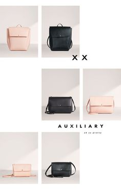 Auxiliary Vachetta Leather Bags