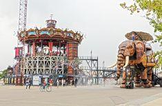 Les Machines de l'île, Elephant in Nantes (Jules Vernes), France