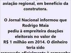 FORA RODRIGO MAIA FORA SEU  TV Ban Brasil AÇÃO Noticia: Intervenção Mili...