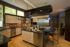 Contemporary Kitchen - contemporary - kitchen - portland - Robin Rigby Fisher CMKBD/CAPS