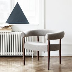 The Ring Chair is also available in various other premium fabrics and colors.  Brands: Getama | Designer: Nanna + Jorgen Ditzel Side Chairs, Dining Chairs, Danish Design Store, Chair Fabric, Chair Design, Sweet Home, Room, Furniture, Home Decor