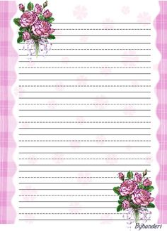 ... on Pinterest | Blog page, Writing papers and Free printable stationery