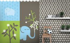 Fototapeten für Kinder Elephants