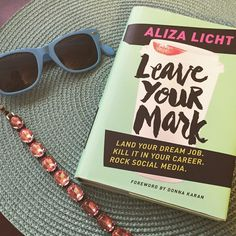 Our first book club book is Leave Your Mark! Check out the blog for more information!