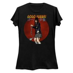 Tarantino Kill Bill - Gogo Yubari T-Shirt (various sizes and colours) Superhero City, Kill Bill, Etsy Shop, This Or That Questions, Clothing, Prints, Mens Tops, T Shirt, Shopping