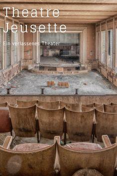 Das Theatre Jeusette ist ein verlassenes Theater mitten in Belgien. Wer diesen Lost Place betritt, meint die Zeit wäre stehengeblieben.    Ein wirklich schöner Lost Place in Belgien, von dem ich wieder Fotos mitgebracht habe. Eine aufregende Tour mit eine
