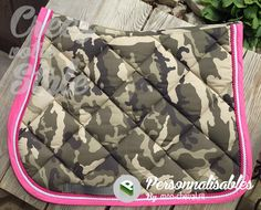 Tapis personnalisé RG Italy au look camouflage girly ! Original :)
