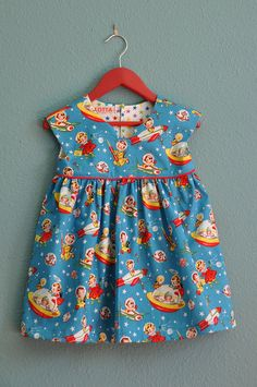 michael miller fabric - geranium dress