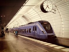 Travel by train to Malmö, Sweden