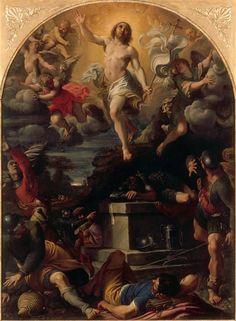 """Annibal CARRACHE, """"La Résurrection du Christ"""" / Annibale CARRACCI, """"Resurrection of Jesus"""", 1593 © RMN-Grand Palais (musée du Louvre) / René-Gabriel Ojéda"""