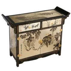 handmade asian furniture 40 black gold lacquer wood pagoda style buffet storage asian style furniture