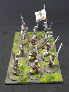 War of the Roses Men at Arms (Perry Miniatures)
