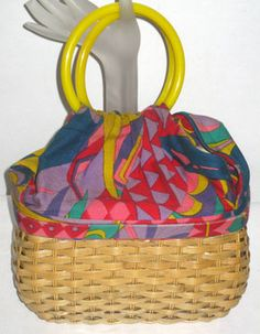 Psychidellic Woven Basket Ring Purse $39.99 - QuirkyFinds.com