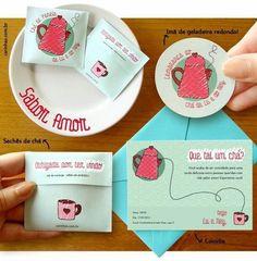 Ideias criativas de convite para o chá de panela