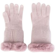 N.Peal Cashmere Gloves (3397600 BYR) ❤ liked on Polyvore featuring accessories, gloves and cashmere gloves