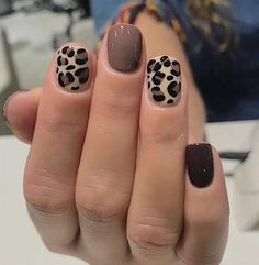 Get Nails, Fancy Nails, Love Nails, Pretty Nails, Fall Toe Nails, Nagellack Design, Nagellack Trends, Leopard Nails, Pink Nails