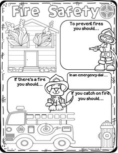 This poster is perfect for you study of fire safety!
