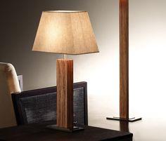 Tau Madera lámpara de mesa Tau - Iluminación general de BOVER | Architonic