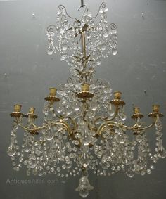 Antiques Atlas - Large French Antique Chandelier