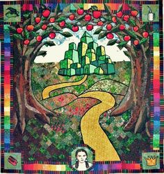 wizard of oz quilt | Wizard of Oz Quilt top | Flickr - Photo Sharing!