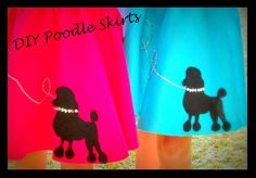 diy poodle skirts in less than one hour
