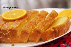 Eggless Orange Cake – ** DKitchen
