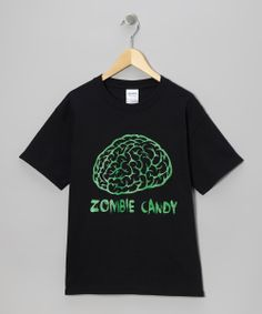 Black 'Zombie Candy' Tee - Kids & Adult | Daily deals for moms, babies and kids