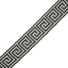 "Samuel and Sons Passementerie 1 3/8"" ARISTOTLE GREEK KEY"