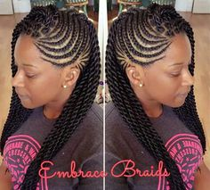 we love mixing twists and braids, singles and cornrows. Braids For Kids, Girls Braids, Twists, Twist Braids, African Braids Hairstyles, Girl Hairstyles, Braided Mohawk Hairstyles, Protective Hairstyles, Twisted Hair