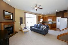 Brand new listing in Woodbury, Minnesota! Lovely end unit in with lots of natural light. Open floor plan, vaulted ceilings, gas fireplace, 3BR, 4BA plus sun room/den, nice deck & patio. Master suite features private bath & spacious walk in closet. Main floor laundry. Nice kitchen with beautiful maple cabinetry, a large pantry & an island/breakfast bar. Lower level walkout to patio & backyard. New AC, water softener, & high-efficiency furnace.  www.10793kingsfieldlane.com