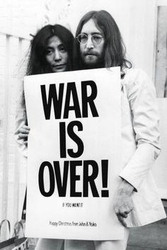 John Lennon - War is Over - Official Poster