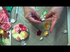 Paper Flower Tutorial 4