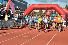 The #Universidad Europea de #Madrid #UEM #Villaviciosa de Odon campus recently hosted 600 college #athletes as it hosted the 19th edition of the Cross #athletic #competition for #children. Like this post if you were there! More on the event at http://www.uem.es/es/noticias/1827