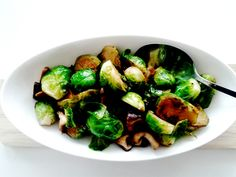 Awesome () Brussel Sprout Side Dish from Liberate Your Plate!!