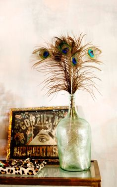 Love these feathers in a vase #inspiration #cute #annaninanl