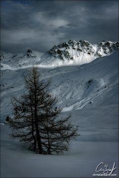 Dark Mountains, Saint-Luc, Switzerland Copyright: Chris Bard