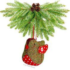 Tweedy Pie Robin Paper Sewing Pattern – My Fabric Heaven Handmade Felt, Handmade Ornaments, Felt Christmas, Christmas Ornaments, Christmas Ideas, Christmas Crafts, Xmas, Fabric Christmas Decorations, Selling Handmade Items