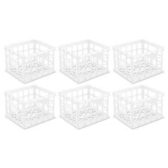 Sterilite  Storage Box Crate (6 Pack) / 16928006 , #Sterilite, #6x16928006
