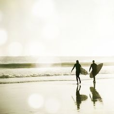 Surf Photography - Ocean photograph white gray california surfer wall art sepia beach photography modern 8x8 - The Pull of the Tide via Etsy