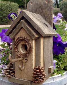 Rustic Outdoor Bird House 383