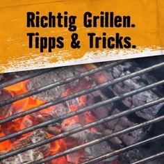 Richtig Grillen. Alles was Du übers Grillen und Smoken wissen musst. Hier der Ratgeber. Grill Accessories, Outdoor Cooking, Interesting Facts, Tips And Tricks