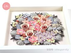 Paper quilling flowers /quilling orchid/手韵衍纸(蕙质兰心)