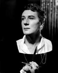 """Michael Redgrave as Hamlet, 1958.  He was one of the most brilliant interpreters of shakespeare, """"No subtlety of inflexion or pronounciation escapes him""""."""