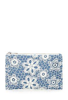 8e165e54241 Floral Crochet Cosmetic Pouch  5.90 Makeup Pouch