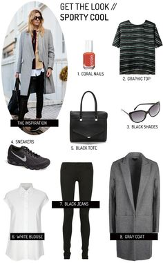 Get the Look: Sporty Cool