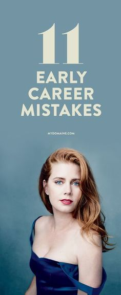 You can learn from these major career mistakes